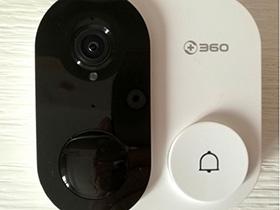 360可视门铃C1开箱:守护门神!