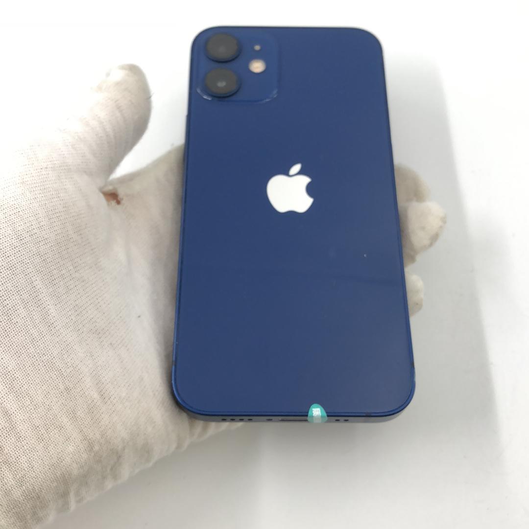 苹果【iPhone 12 mini】5G全网通 蓝色 128G 国行 8成新