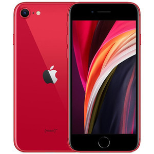 苹果【iPhone SE2】128G 95新  全网通 国行 红色高性价比成色新