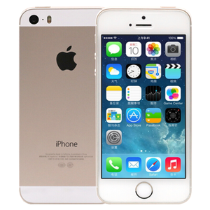 苹果【iPhone 5s】移动联通 4G/3G/2G 金色 16G 国行 95成新
