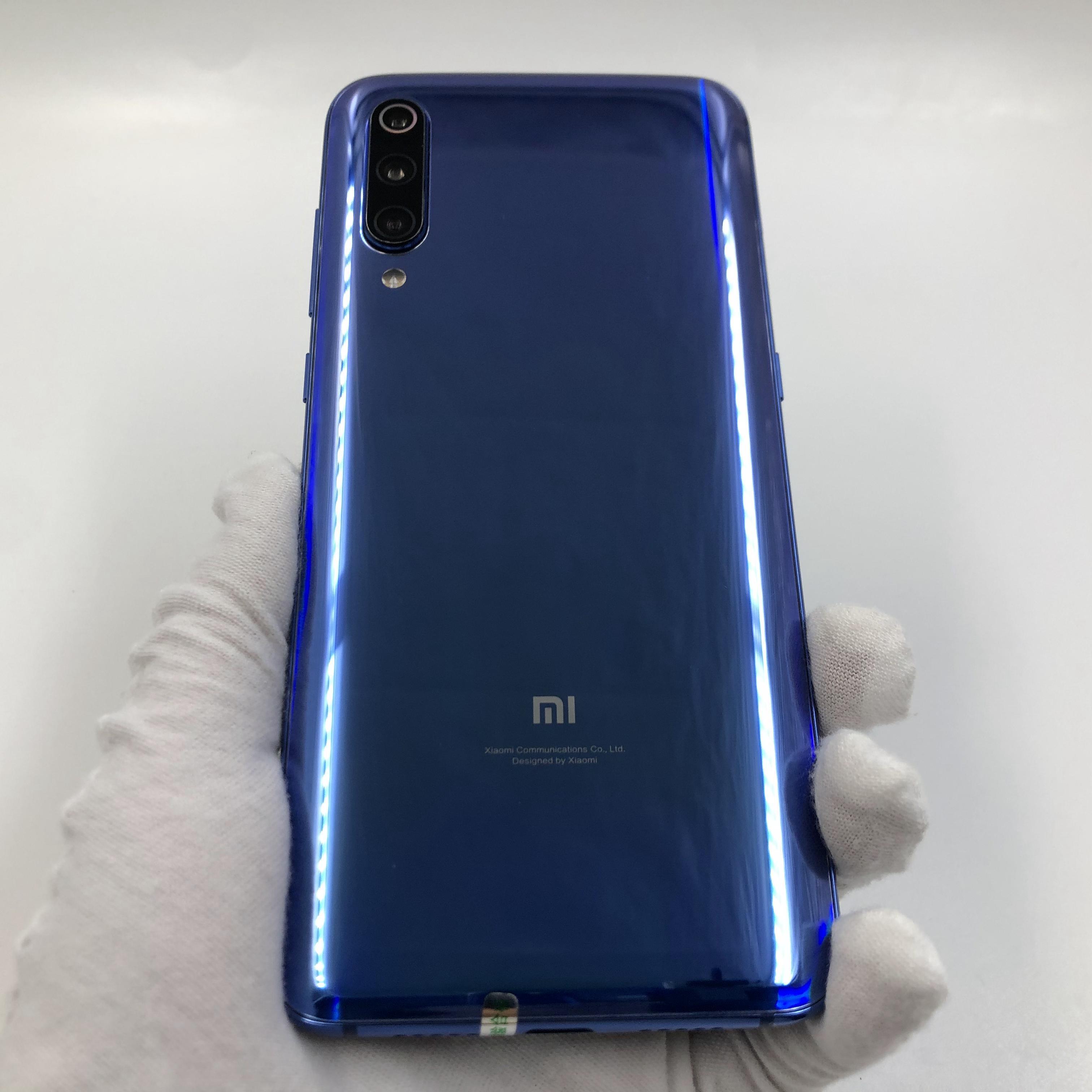 小米【小米9】4G全网通 蓝色 6G/128G 国行 8成新 真机实拍