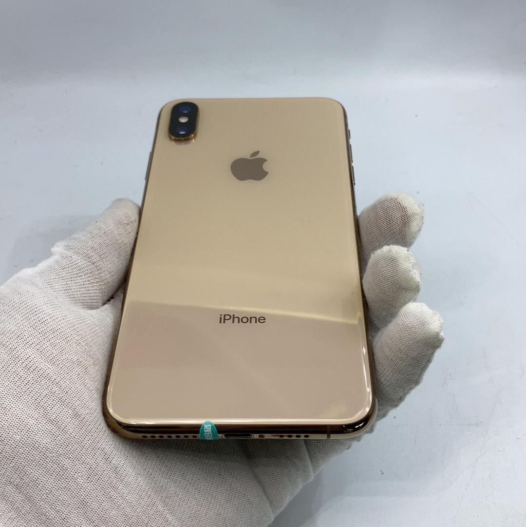 苹果【iPhone Xs Max】4G全网通 金色 64G 国行 95新