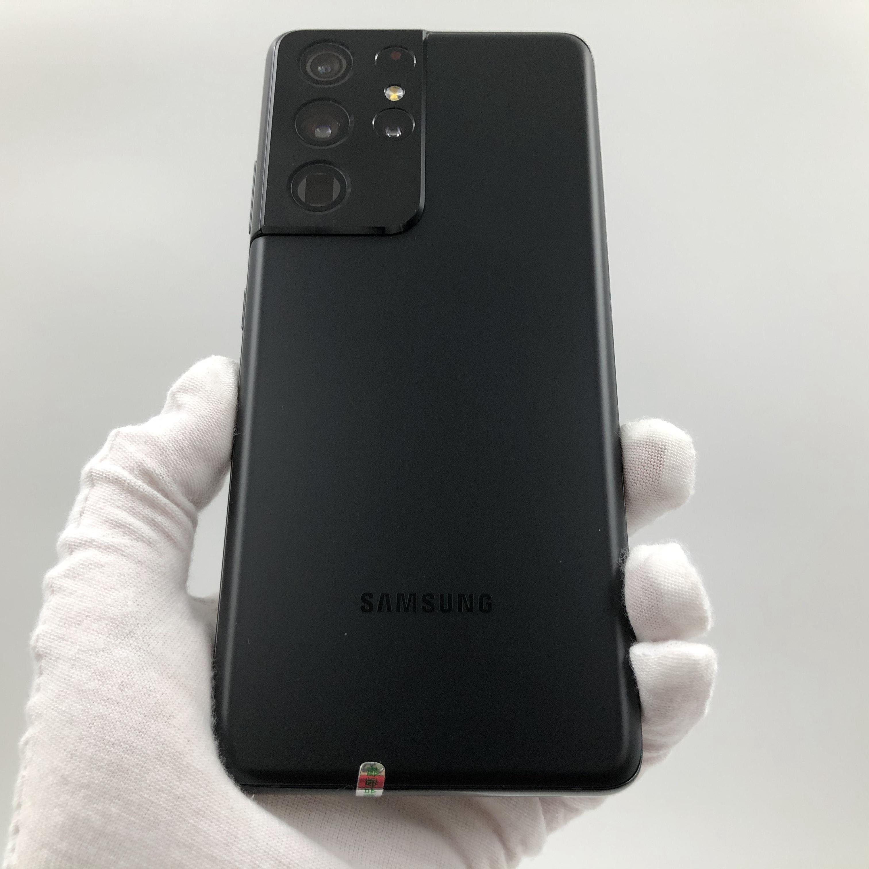 三星【Galaxy S21 Ultra 5G】5G全网通 幽夜黑 12G/256G 港澳台 95新 真机实拍