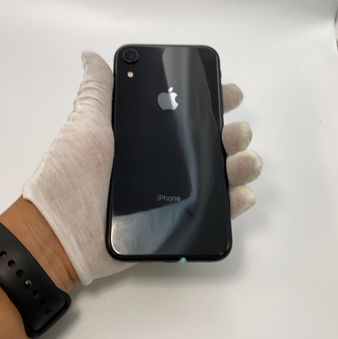 苹果【iPhone XR】4G全网通 黑色 64G 国行 95新