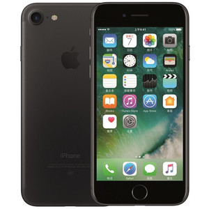 苹果【iPhone 7】全网通 黑色 32G 国行 8成新 真机实拍