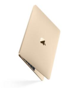 Mac笔记本【16年12寸MacBook MLHE2】8G/256G 8成新  国行 酷睿M3 1.1G 金色真机实拍充头+线A-1