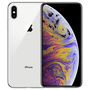 苹果【iPhone Xs Max】全网通 银色 64G 国行 9成新 64G真机实拍