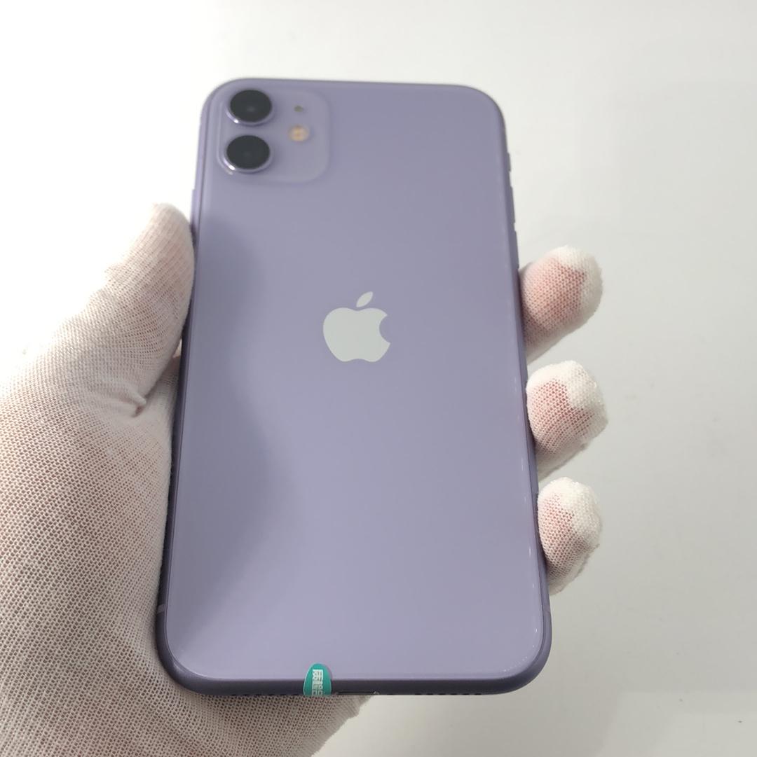 苹果【iPhone 11】4G全网通 紫色 64G 国行 99新