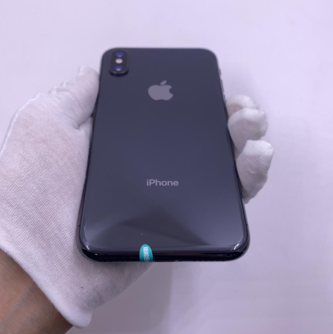 苹果【iPhone X】4G全网通 深空灰 64G 国行 9成新