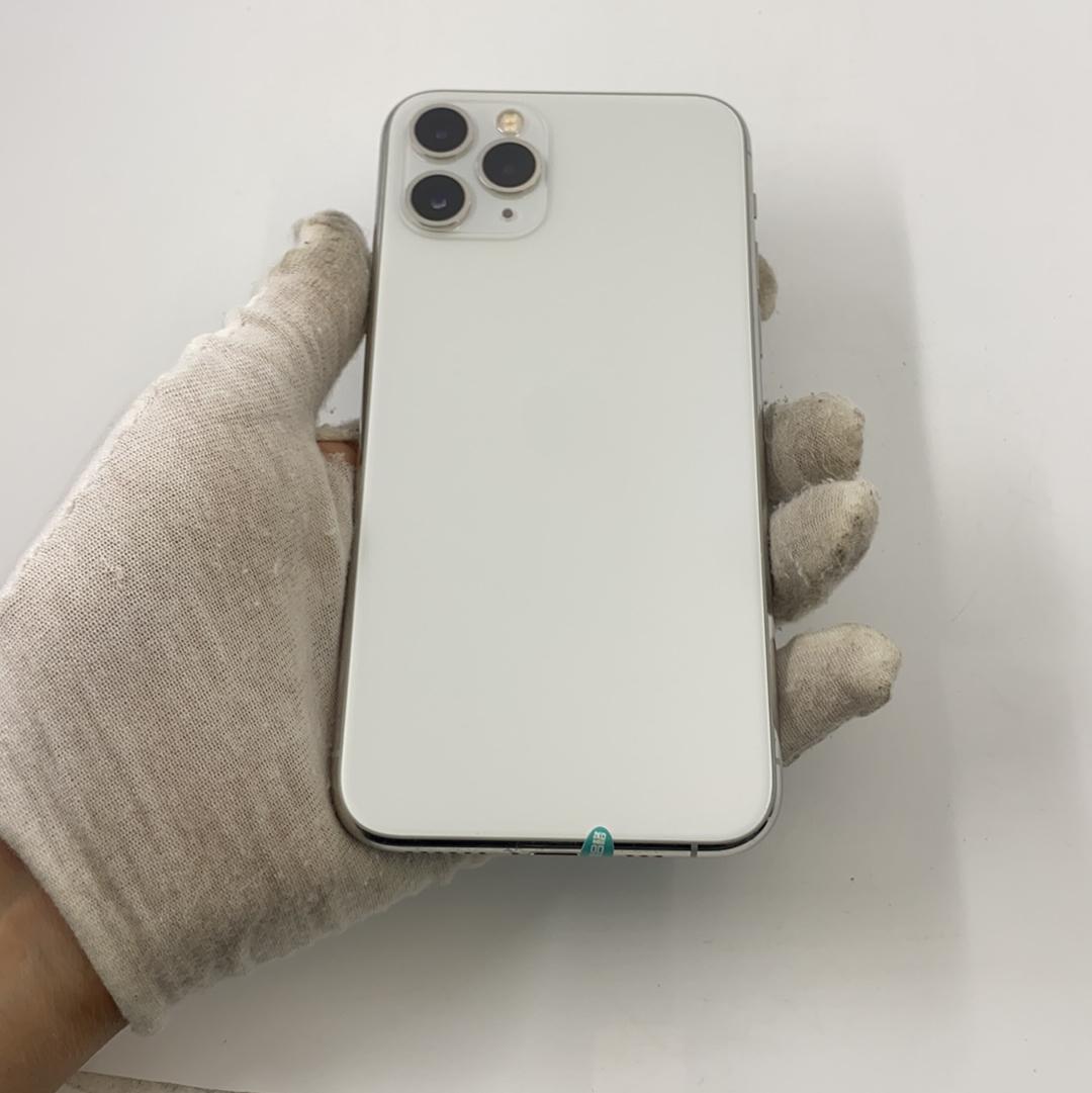 苹果【iPhone 11 Pro】4G全网通 银色 64G 国行 9成新