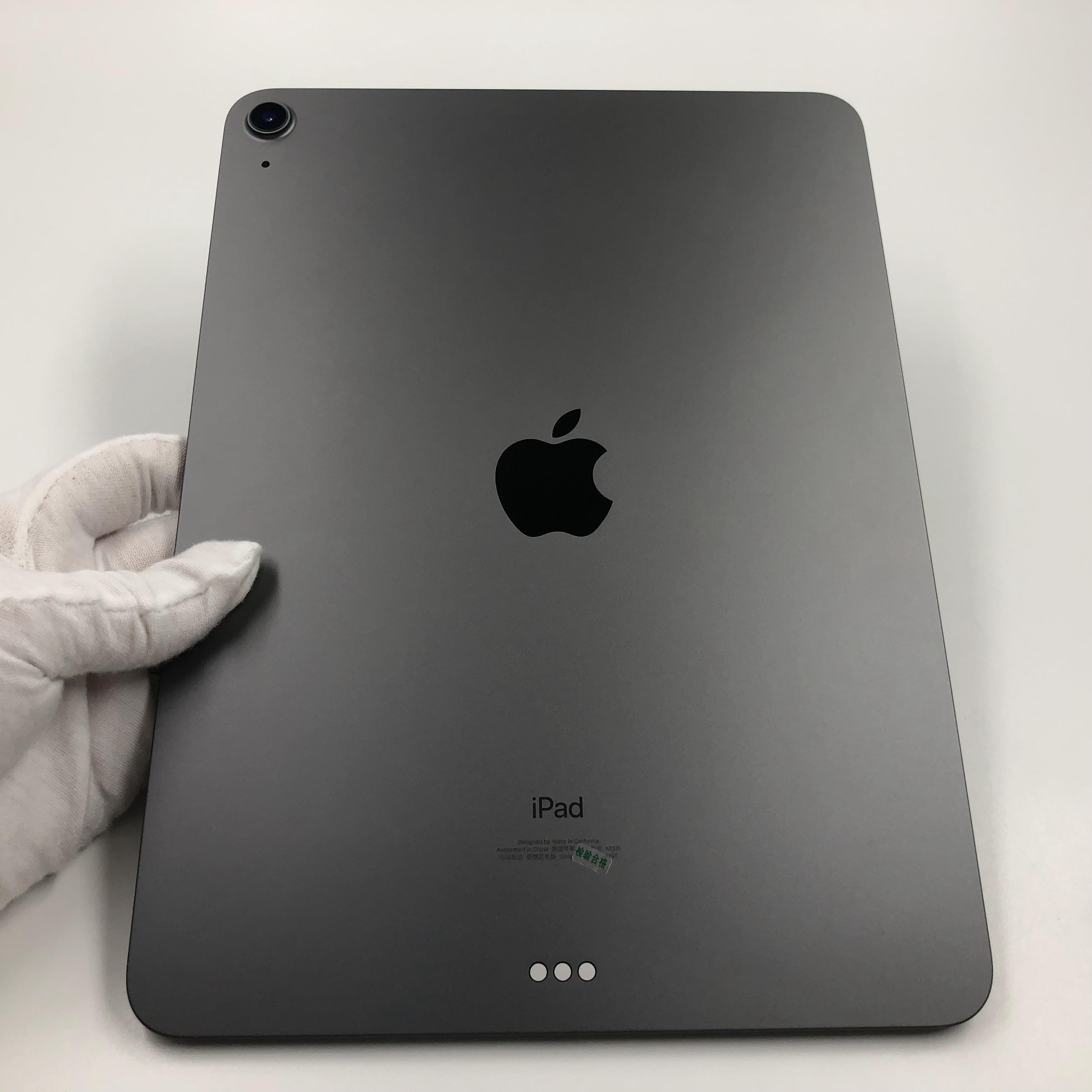 苹果【iPad Air4 10.9英寸 20款】WIFI版 深空灰 256G 国行 95新 真机实拍官保2021-12-13
