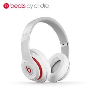 Beats 魔声【Studio2 头戴有线版】95成新  白色国行官换全新耳机