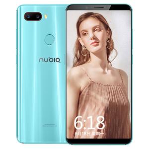 努比亚【Z18 mini】全网通 蓝色 6G/128G 国行 9成新 真机实拍