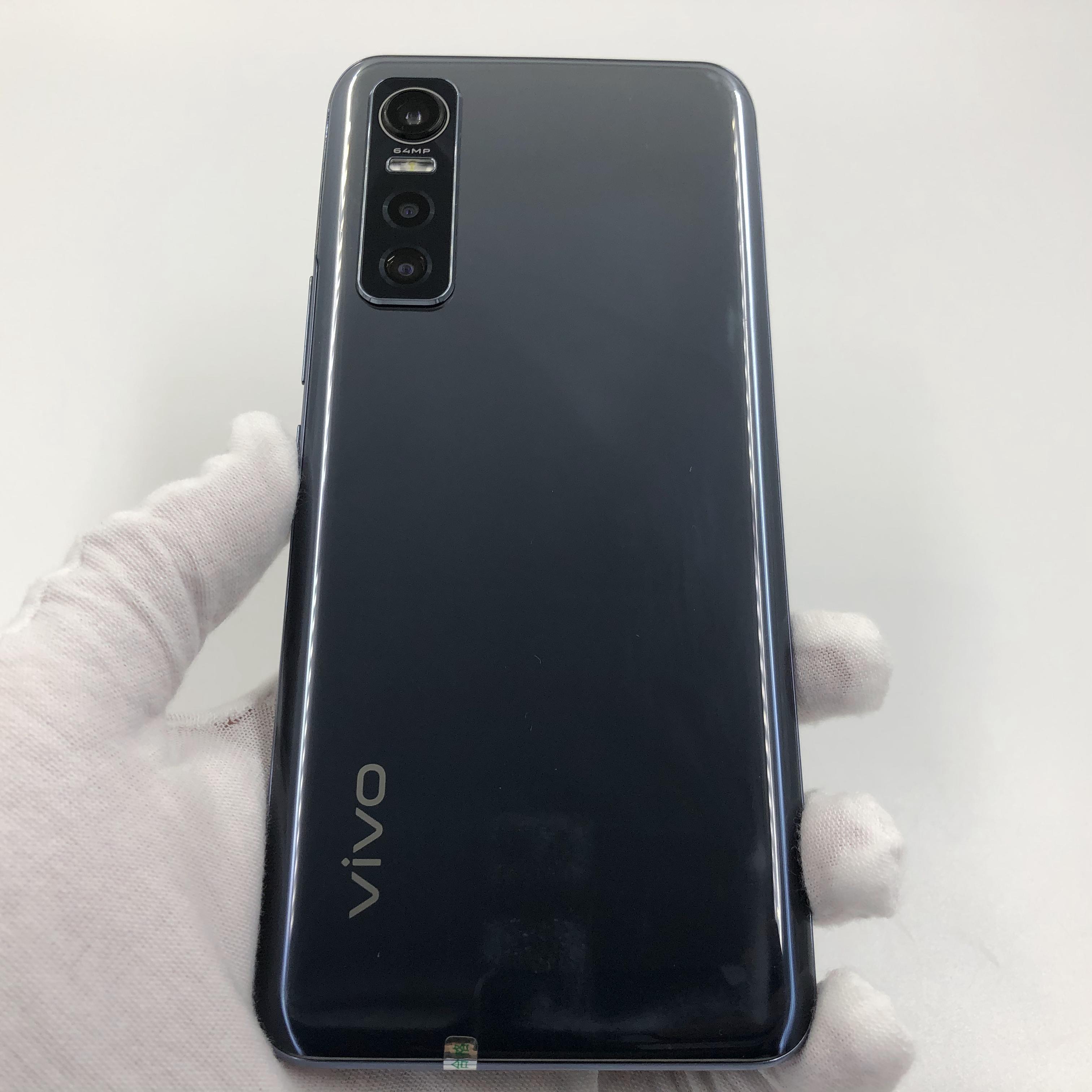 vivo【S7e 5G】5G全网通 黑镜 8G/128G 国行 9成新 真机实拍原包装盒+配件