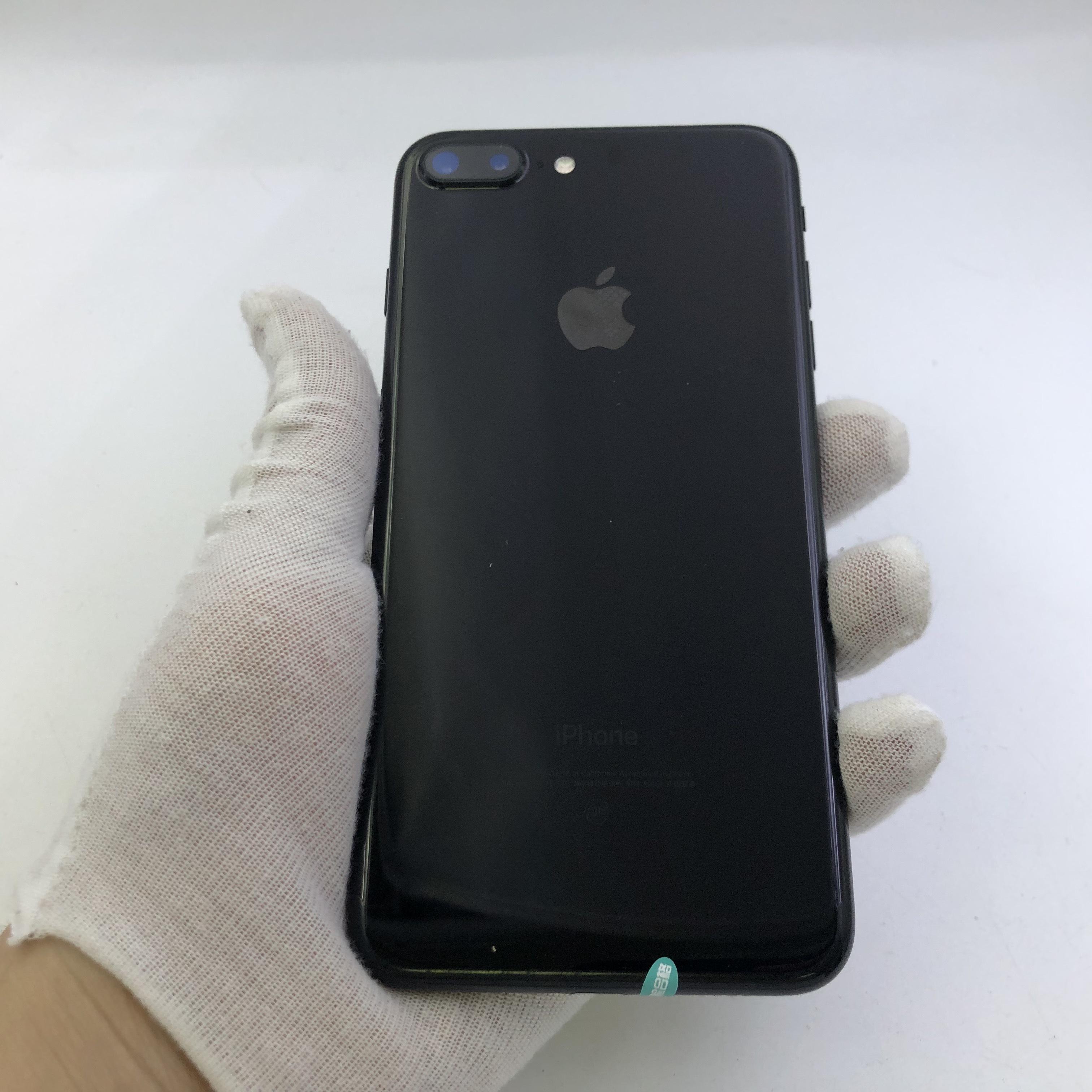 苹果【iPhone 7 Plus】4G全网通 亮黑色 128G 国行 8成新