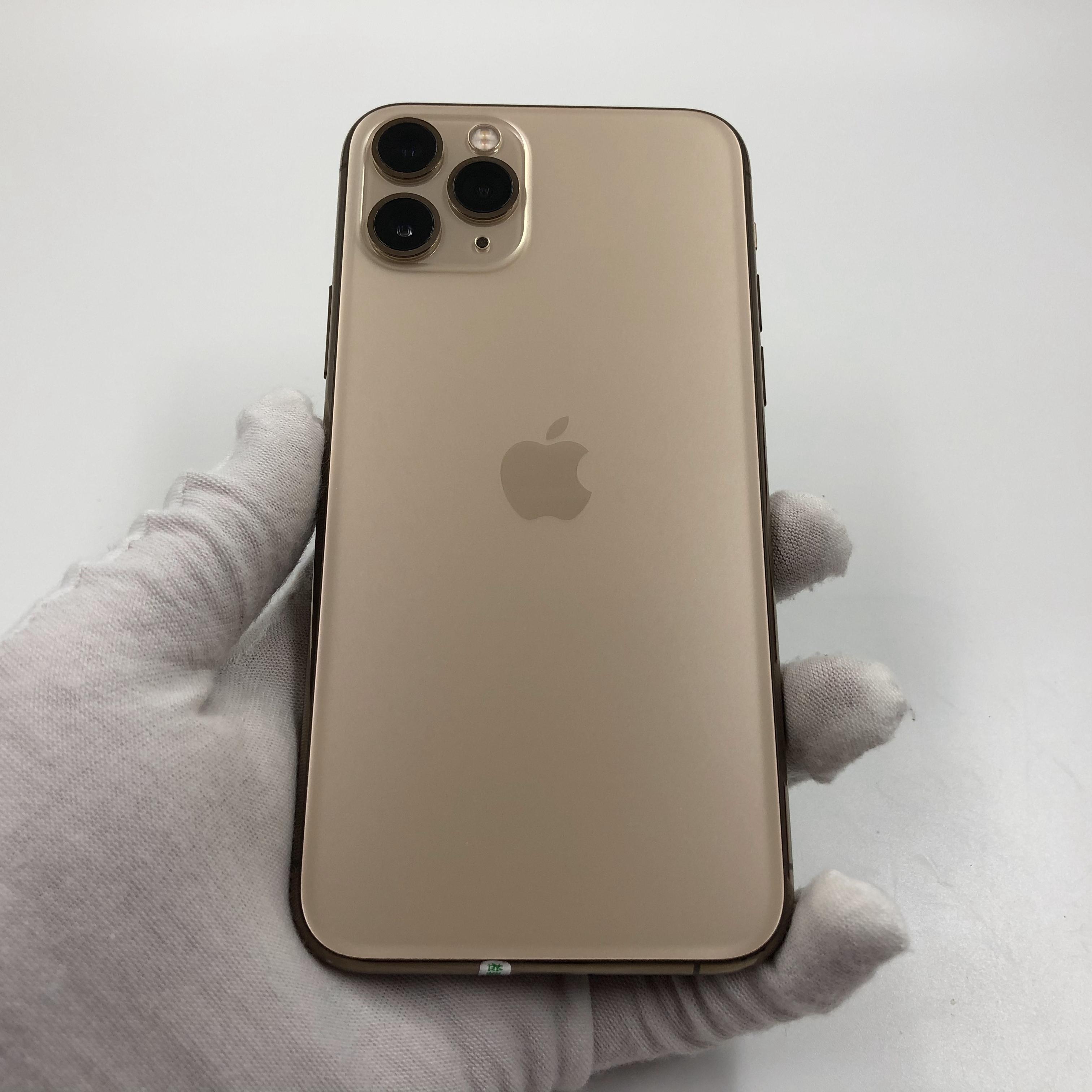 苹果【iPhone 11 Pro】4G全网通 金色 64G 国际版 8成新 真机实拍