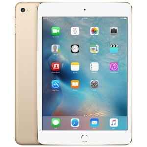 苹果【iPad mini4】WIFI版 金色 128G 国行 95新 128G 真机实拍
