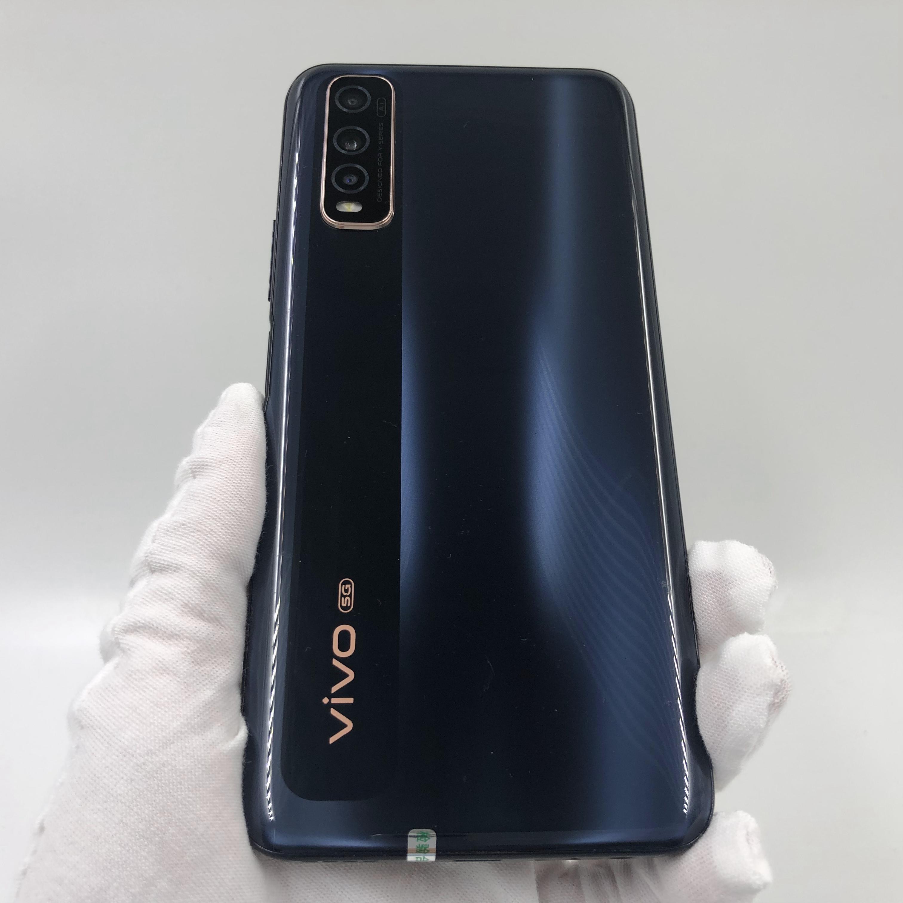 vivo【Y70s 5G】5G全网通 月影黑 8G/128G 国行 9成新 真机实拍