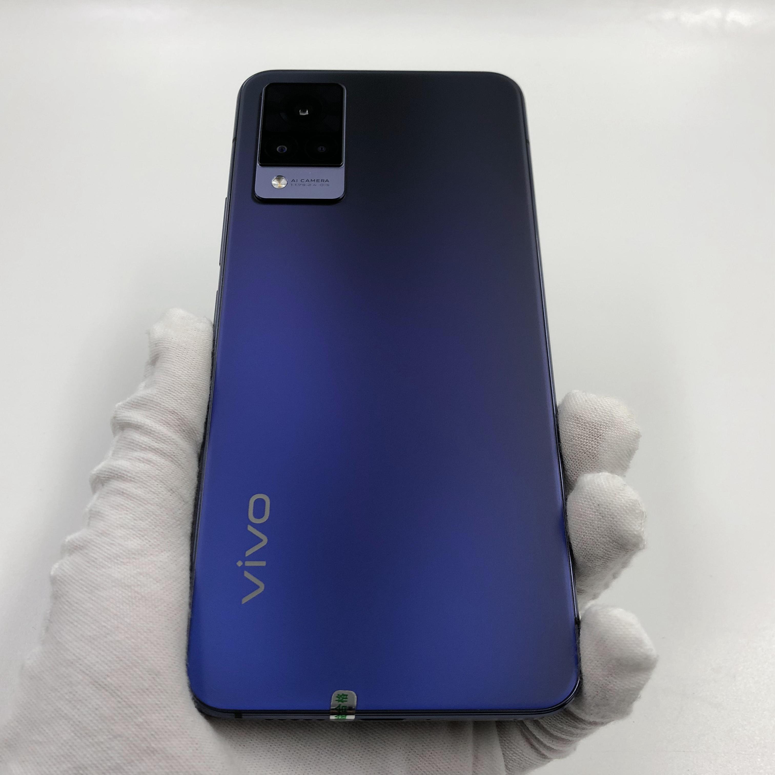 vivo【S9 5G】5G全网通 子夜蓝 8G/128G 国行 99新 真机实拍