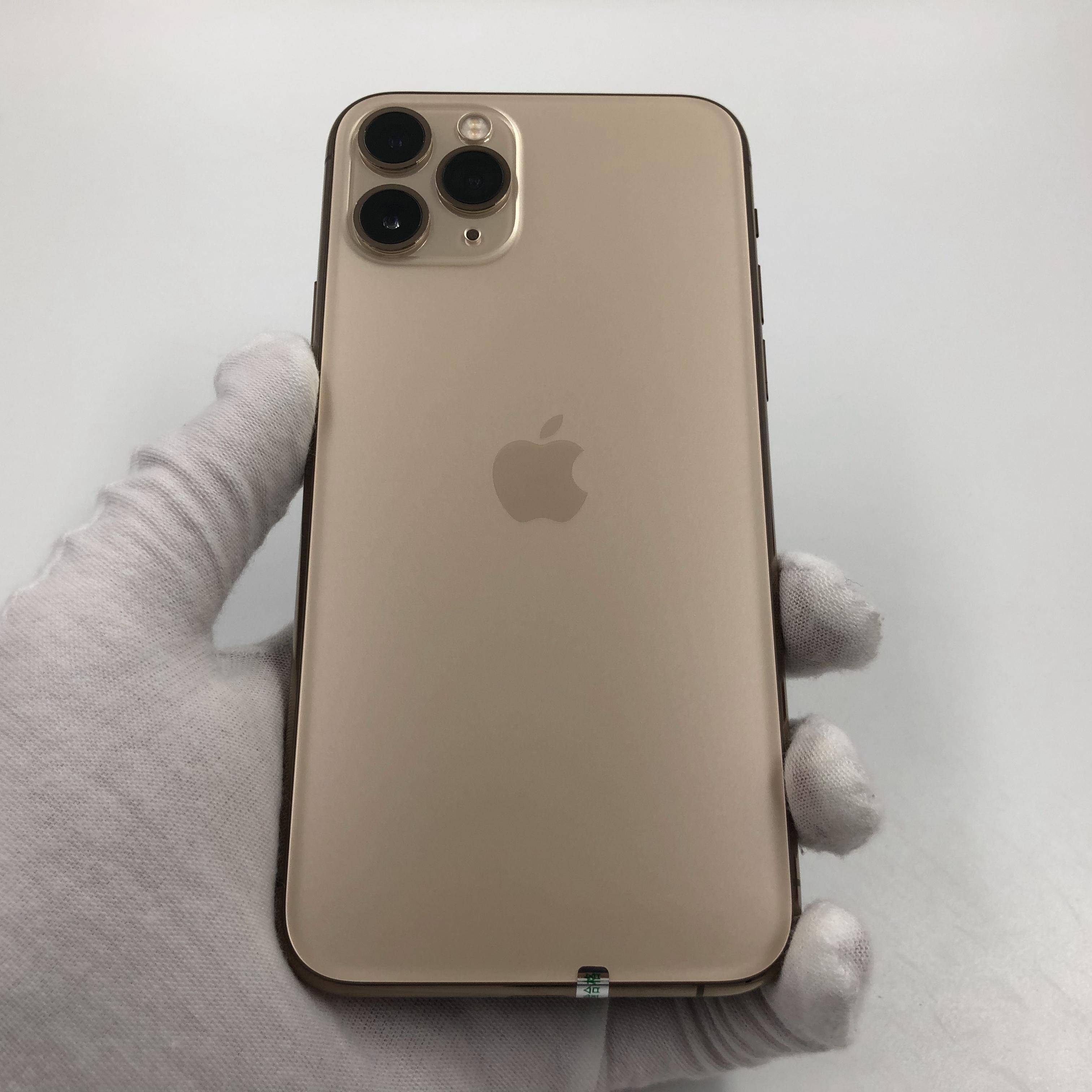 苹果【iPhone 11 Pro】4G全网通 金色 64G 国行 8成新 真机实拍