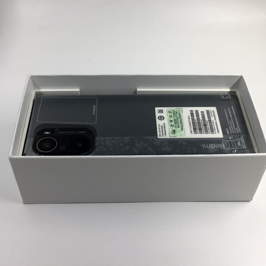小米【Redmi k40 5G】5G全网通 亮黑色 12G/256G 国行 99新 12G/256G真机实拍