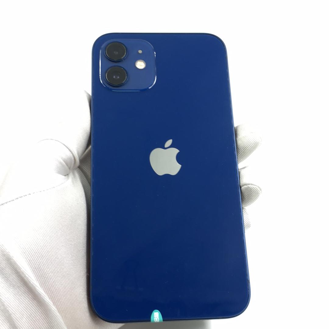 苹果【iPhone 12】5G全网通 蓝色 256G 国行 95新 256G真机实拍