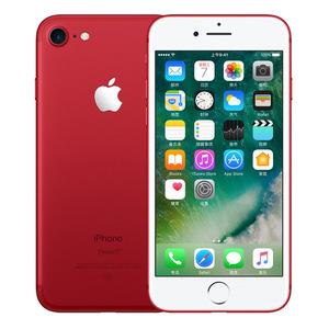 苹果【iPhone 7】全网通 红色 128G 国行 7成新 真机实拍