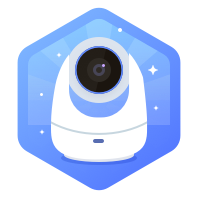 360智能摄像机云台版1080p(白)