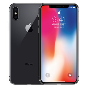 苹果【iPhone X】移动联通 4G/3G/2G 深空灰 256G 国际版 9成新