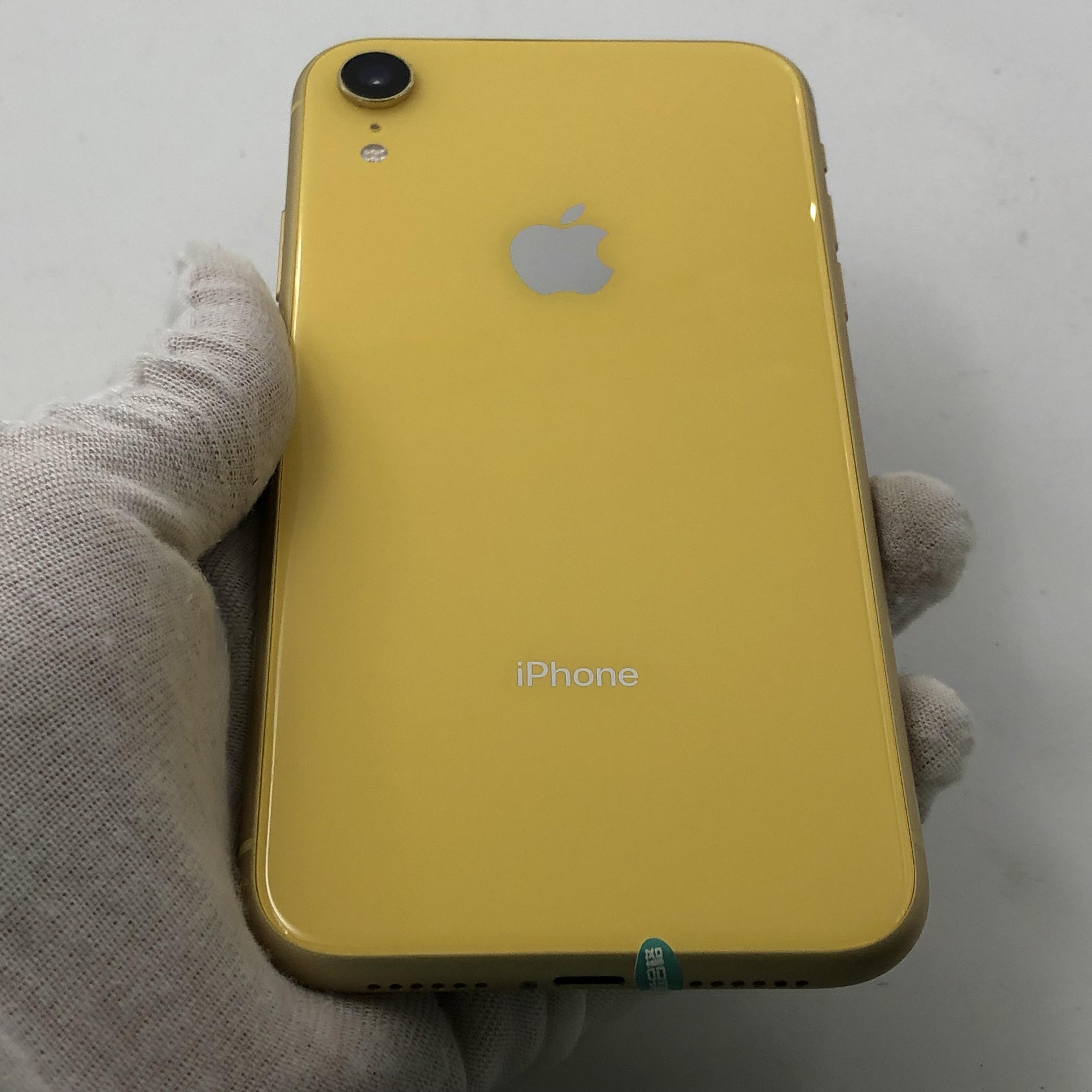 苹果【iPhone XR】4G全网通 黄色 128G 国行 95新