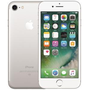 苹果【iPhone 7】全网通 银色 128G 国行 8成新 真机实拍