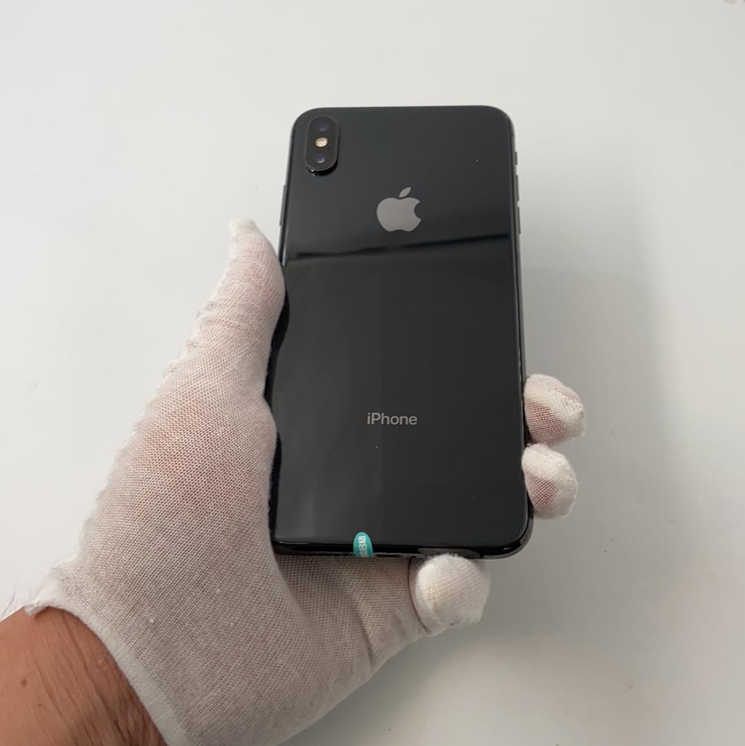 苹果【iPhone Xs Max】4G全网通 深空灰 64G 国行 8成新