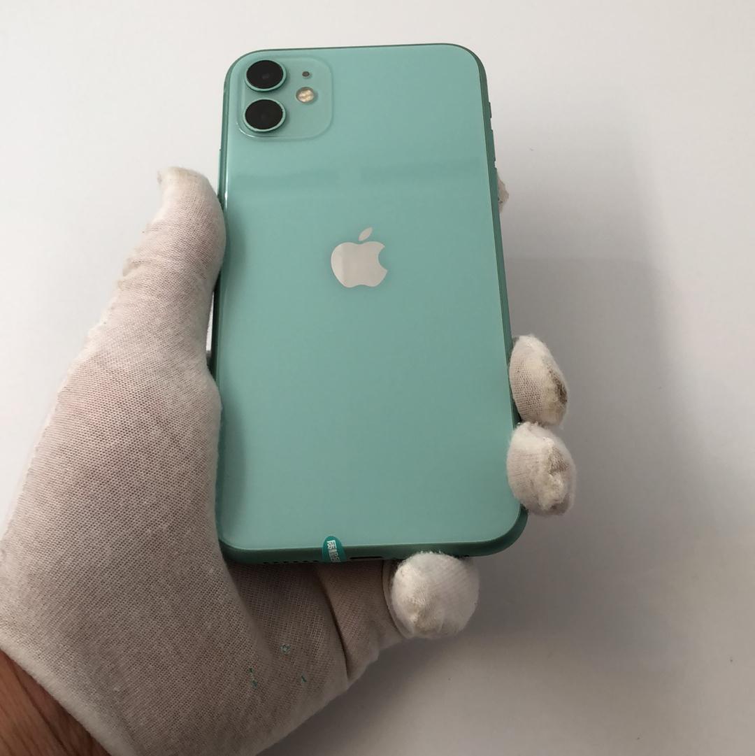苹果【iPhone 11】4G全网通 绿色 128G 国行 9成新