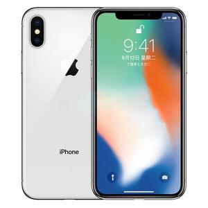 苹果【iPhone X】全网通 银色 64G 国行 9成新