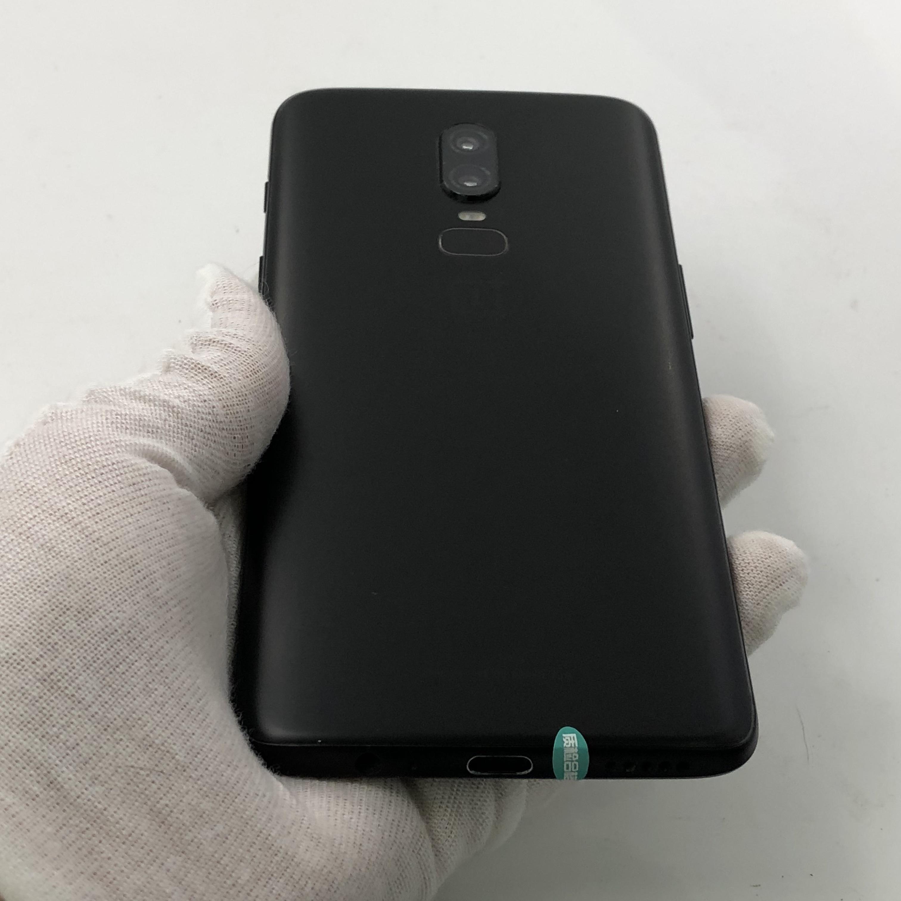 一加【一加 6】4G全网通 黑色 8G/128G 国行 8成新