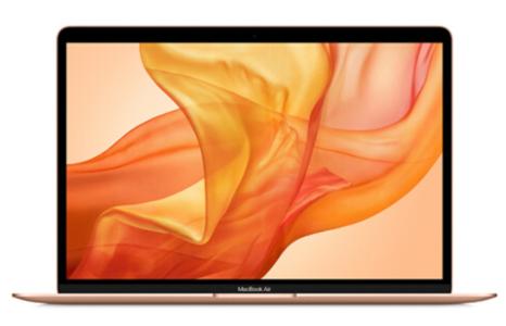 Mac笔记本【19年13寸MacBook air MVFM2】玫瑰金 国行 8G/128G I5 1.6GHz 95成新 原厂一套