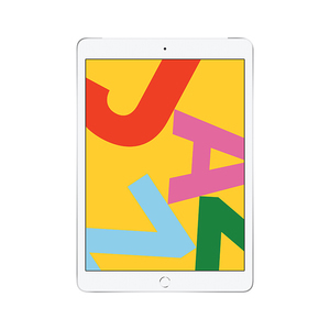 苹果【iPad 2019款10.2英寸】WIFI版 银色 128G 国行 8成新 真机实拍