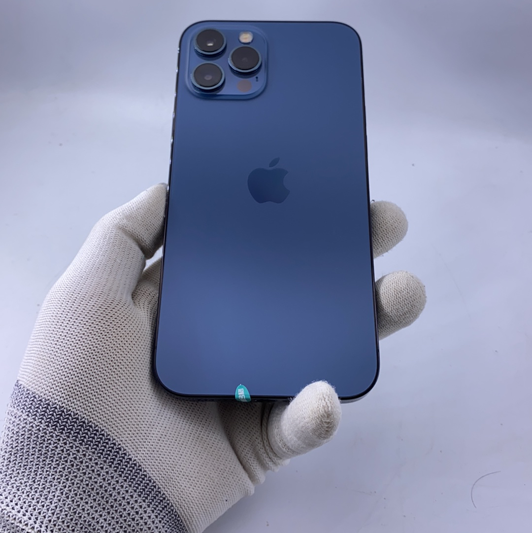 苹果【iPhone 12 Pro Max】5G全网通 海蓝色 256G 国行 95新