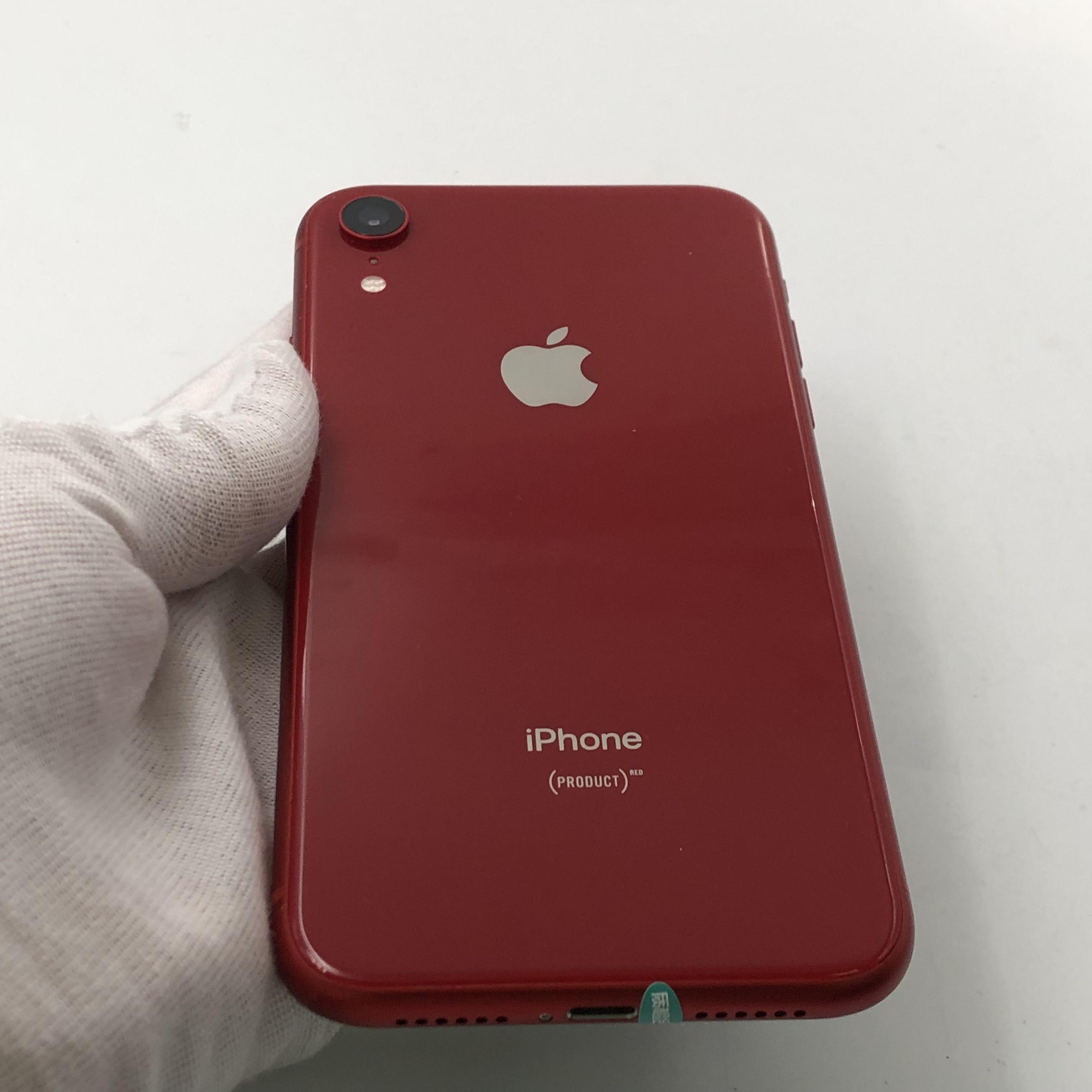 苹果【iPhone XR】4G全网通 红色 64G 国行 8成新