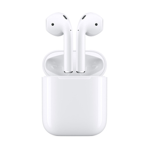 苹果【AirPods 2代 有线版】9成新  国行 白色无线蓝牙耳机不支持优惠