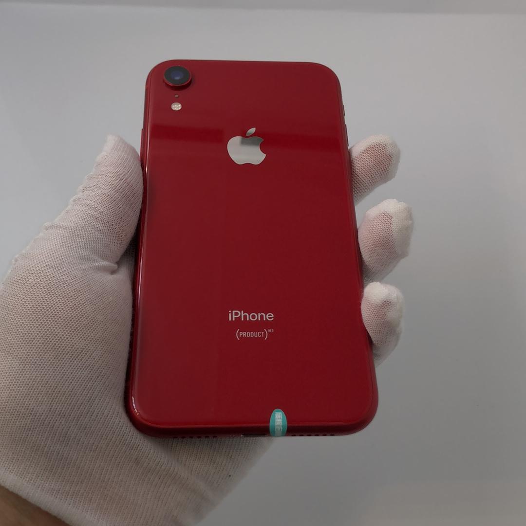 苹果【iPhone XR】4G全网通 红色 64G 国行 95新