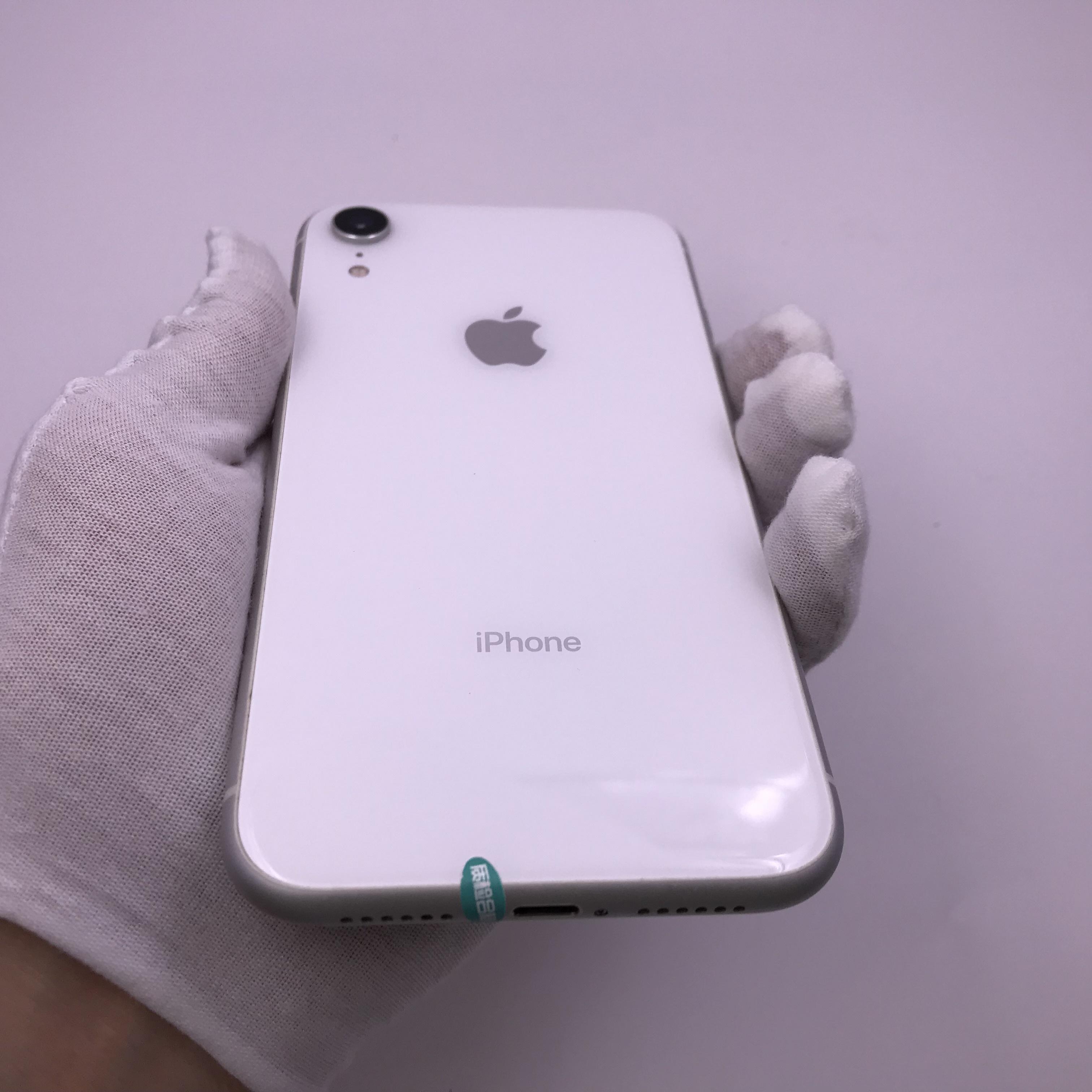 苹果【iPhone XR】移动联通 4G/3G/2G 白色 128G 国际版 95新