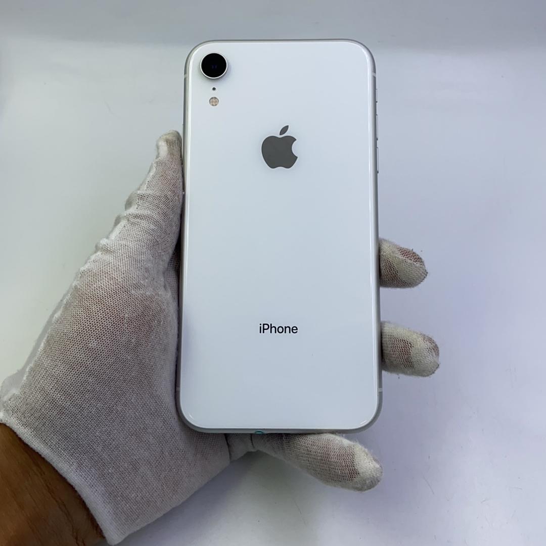 苹果【iPhone XR】4G全网通 白色 64G 国行 8成新