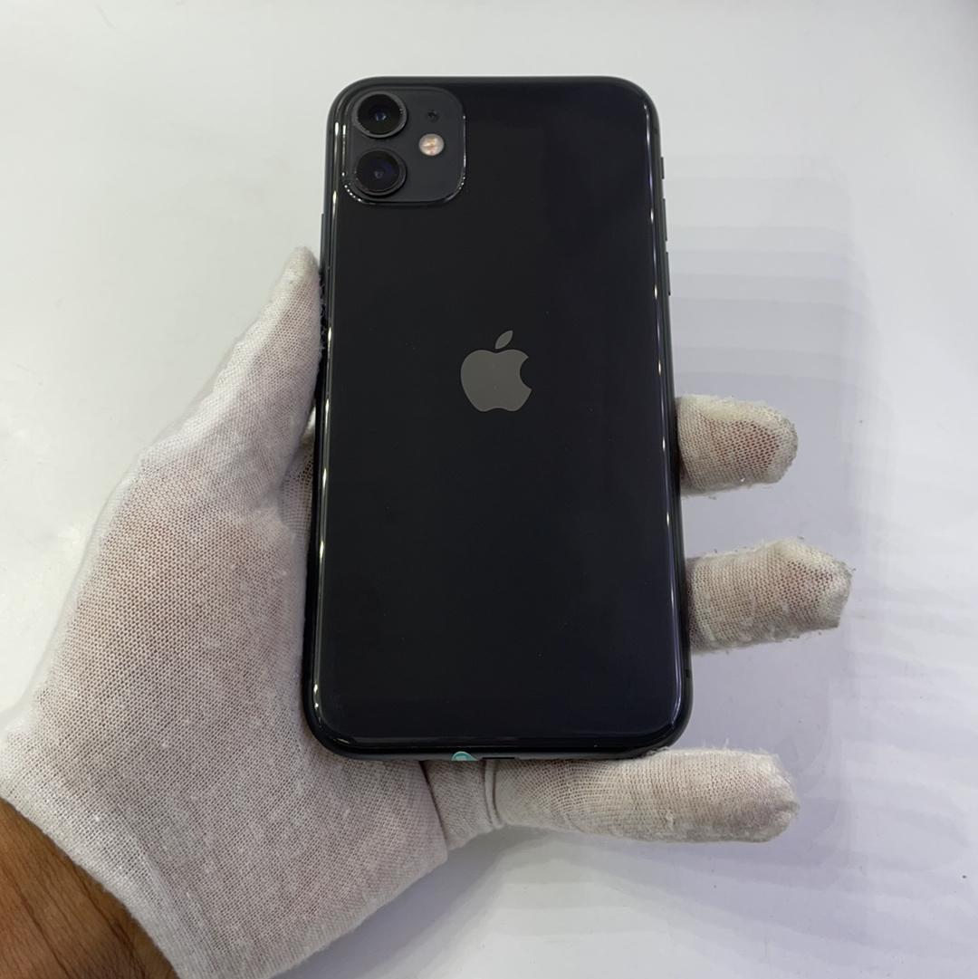 苹果【iPhone 11】4G全网通 黑色 128G 国行 95新