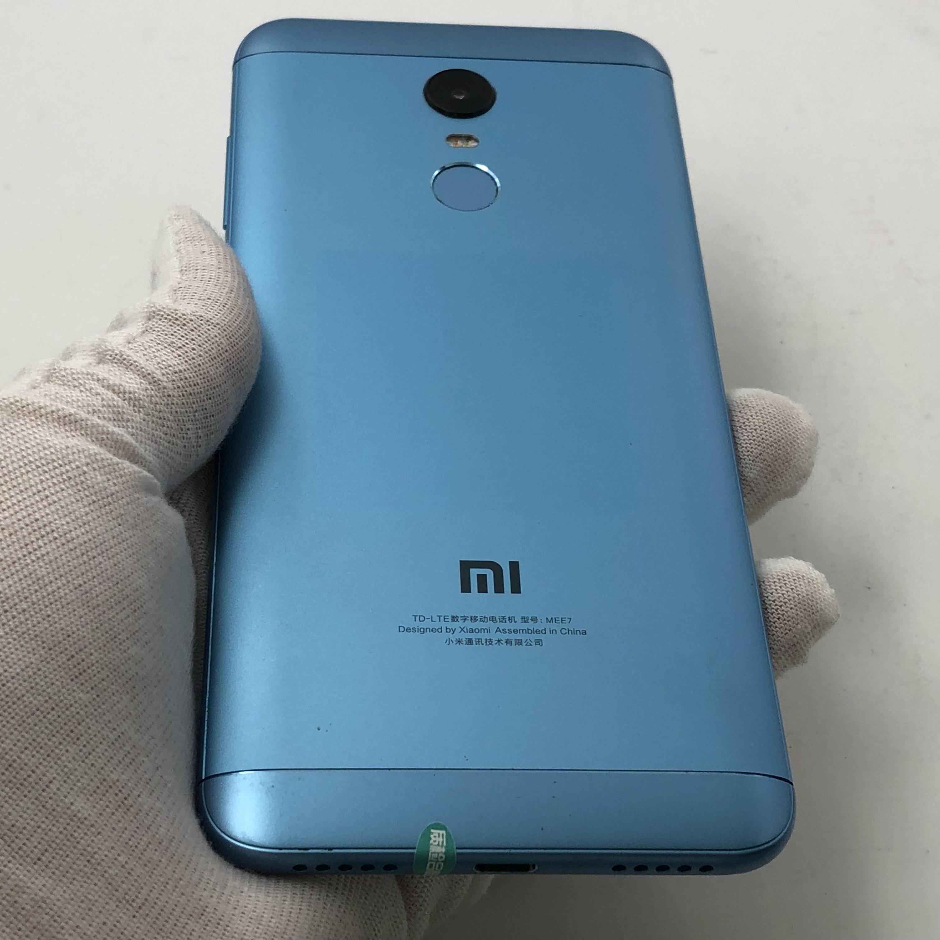 小米【红米5 Plus】4G全网通 蓝色 64G 国行 8成新