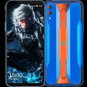 小米【黑鲨游戏手机2 Pro】全网通 蓝色 12G/128G 国行 8成新 真机实拍