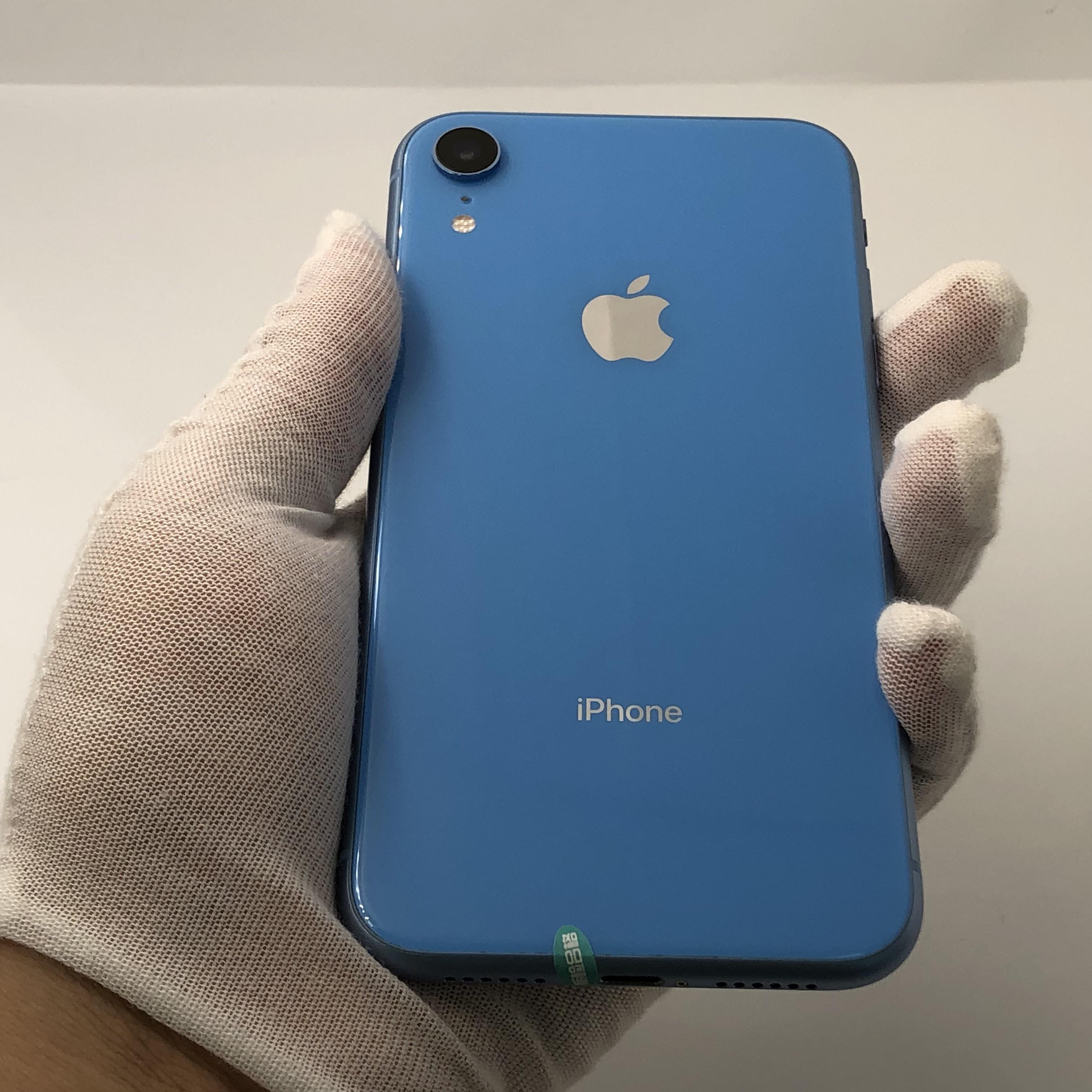 苹果【iPhone XR】4G全网通 蓝色 64G 国行 8成新