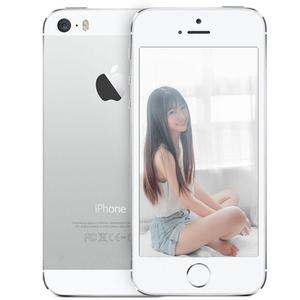 苹果【iPhone 5s】移动联通 4G/3G/2G 银色 16G 国行 8成新