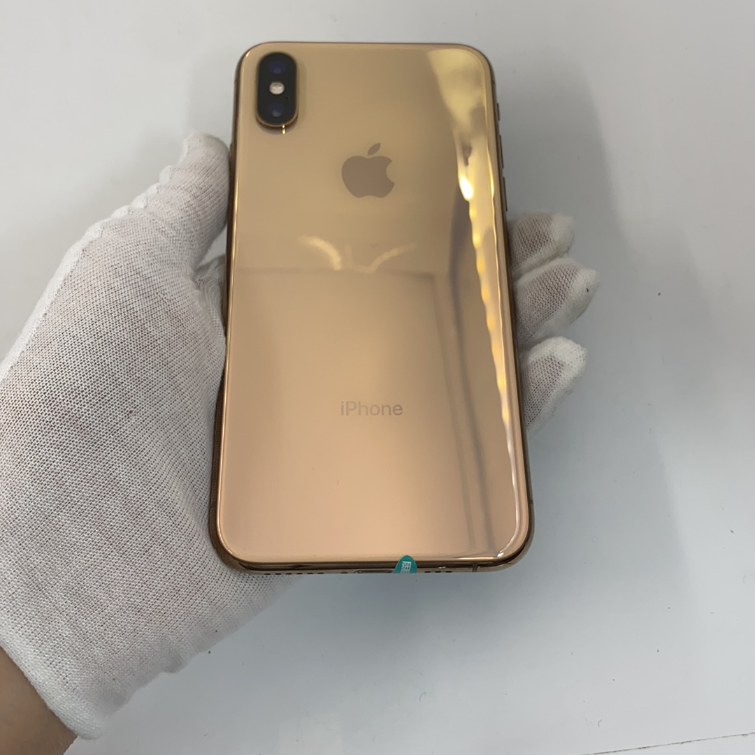 苹果【iPhone Xs】4G全网通 金色 64G 国行 8成新