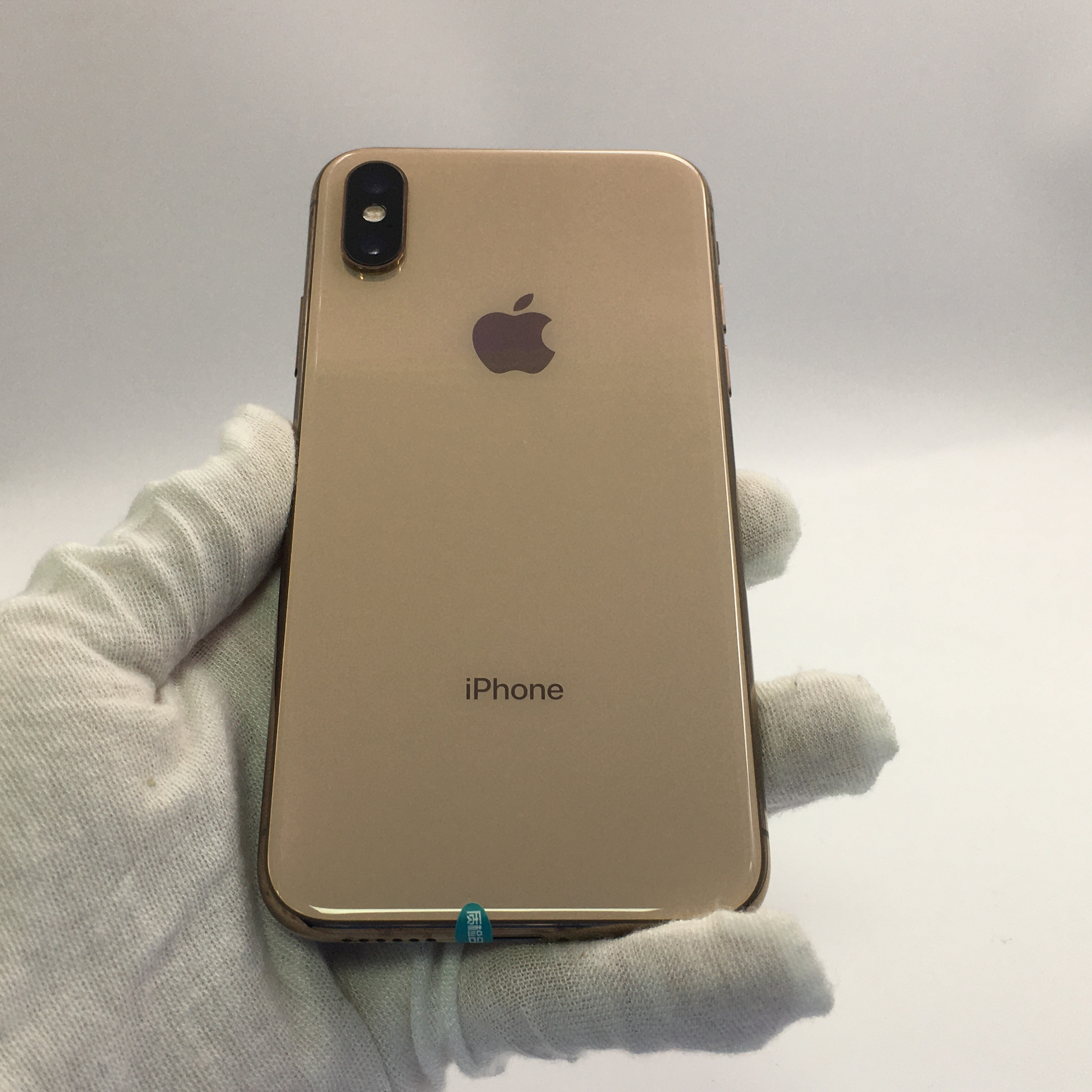 苹果【iPhone Xs】4G全网通 金色 64G 国行 8成新 64G真机实拍